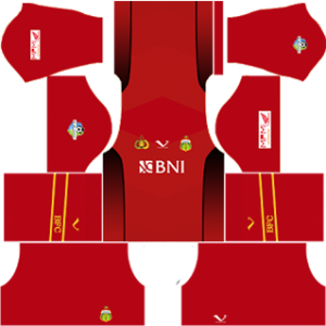 bhayangkara fc dls goalkeeper away kit 2017-2018