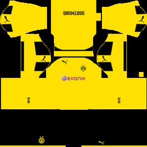 borussia dortmund dls third Kit 2016-2017