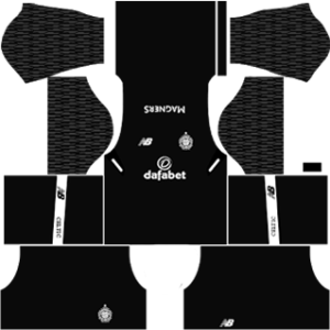 celtic fc dls goalkeeper away kit 2017-2018