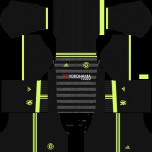 chelsea away dls kit 2016-2017