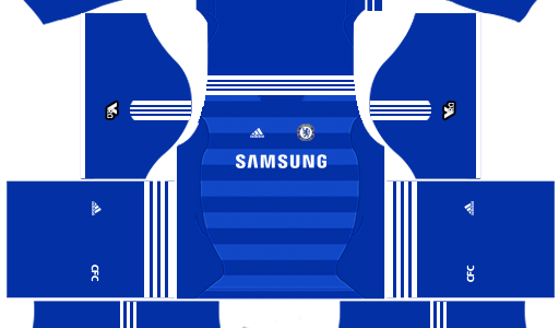 Chelsea Kits 2011/2012 Dream League Soccer