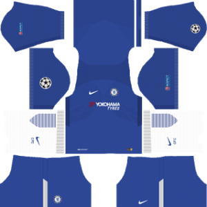 chelsea fc nike ucl home kit 2017-2018