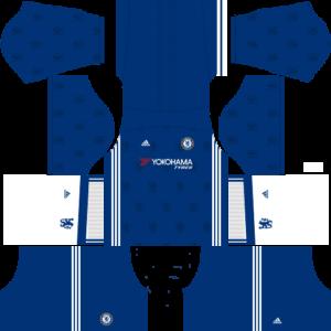chelsea home dls kit 2016-2017
