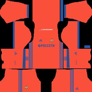 cska moscow kit dls away 2017-2018