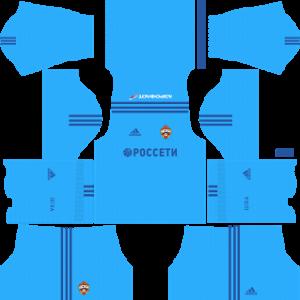 cska moscow kit dls goalkeeper away 2017-2018