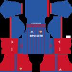 CSKA Moscow Dream League Soccer Kits 2017/2018