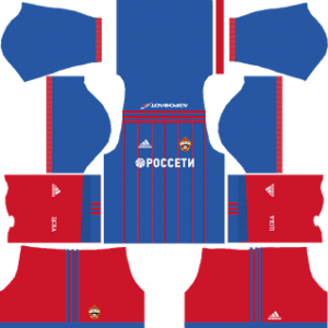 cska moscow kit dls home 2017-2018