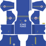 Leicester City Kits 2017/2018 Dream League Soccer