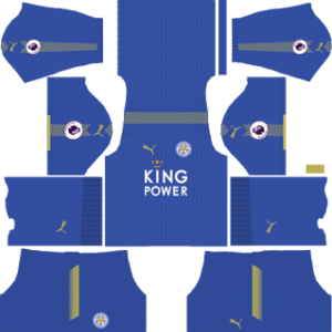 leicester city dls home kit 2017-2018