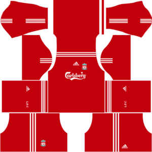 liverpool dls kit home 2009-2010