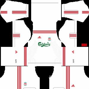 liverpool dls kit third 2009-2010