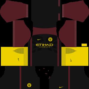 manchester city away dls away kit 2016-2017