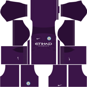 manchester city away dls goalkeeper third kit 2016-2017