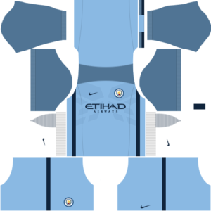 manchester city away dls home kit 2016-2017