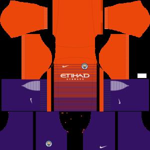manchester city away dls third kit 2016-2017