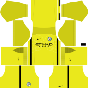 manchester city dls goalkeeper home kit 2016-2017