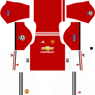 Manchester United Ucl Kits 2017 2018 Dream League Soccer