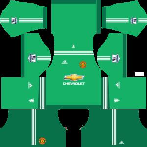manchester united dls Goalkeeper away kit 2015-2016
