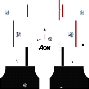 Manchester United Kits 2012/2013 Dream League Soccer
