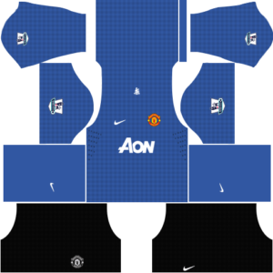 manchester united dls goalkeeper away kit 2012-2013