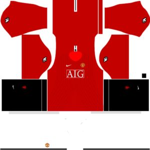 Manchester United Kits 2008 2009 Dream League Soccer