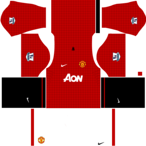 manchester united dls home kit 2012-2013