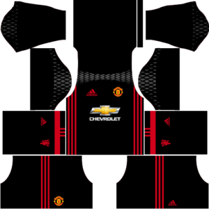 manchester united goalkeeper dls home kit 2016-2017