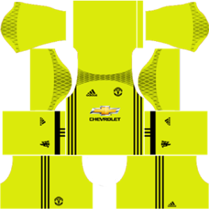 manchester united goalkeeper dls third kit 2016-2017