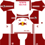 Red Bulls New York Kits 2016/2017 Dream League Soccer