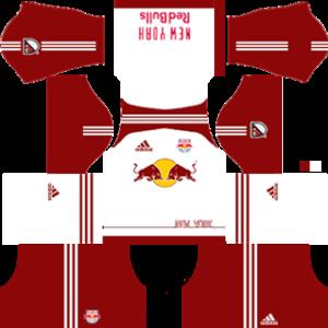 new york red bulls dls home kit 2016-2017