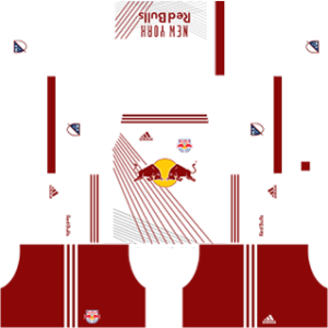 new york red bulls dls home kit 2017-2018