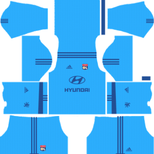 olympique lyon adidas dls goalkeeper away kit 2017-2018