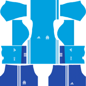 olympique marseille adidas dls away kit 2017-2018
