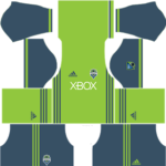 seattle sounders dls home kit 2016-2017