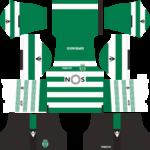 Sporting CP Dream League Soccer Kits 2017/2018