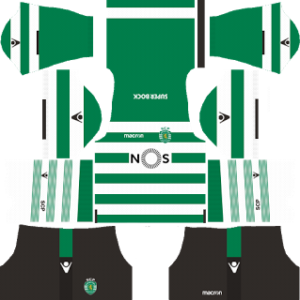 sporting cp dls home kit 2017-2018