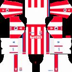 stoke city dls home kit 2017-2018