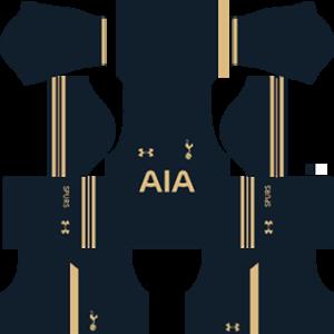 tottenham hotspur dls away kit 2016-2017