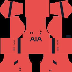 tottenham hotspur dls goalkeeper away kit 2016-2017