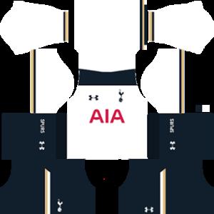 tottenham hotspur dls home kit 2016-2017