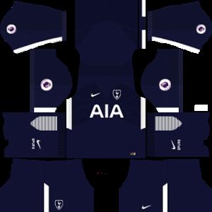 tottenham hotspur nike dls away kit 2017-2018