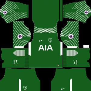 tottenham hotspur nike dls goalkeeper away kit 2017-2018