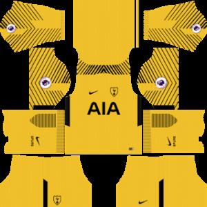 tottenham hotspur nike dls goalkeeper home kit 2017-2018