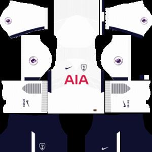 tottenham hotspur nike dls home kit 2017-2018