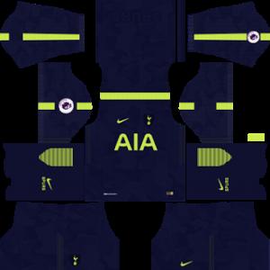 tottenham hotspur nike dls third kit 2017-2018