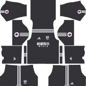west bromwich albion adidas dls goalkeeper away kit 2017-2018