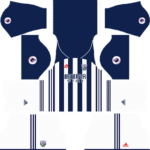 West Bromwich Albion F.C. Kits 2017/2018 Dream League Soccer – West Bromwich Albion F.C. DLS 2018 Kits