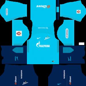 zenit st petersburg nike dls home kit 2017-2018