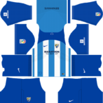 Malaga CF Kits 2017/2018 Dream League Soccer