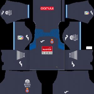 RCD Espanyol DLS Away Kits 2017-18